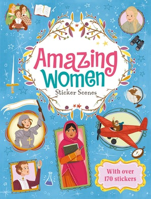 Sticker Scenes: Amazing Women