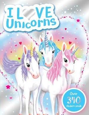 I Love Unicorns Activity Book