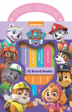 Paw Patrol: My First Library - Pink