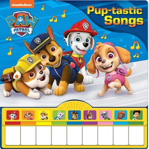 Paw Patrol: Piano Book Mini Deluxe