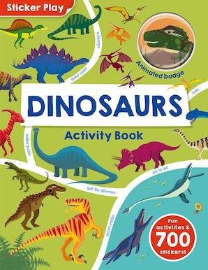 Sticker Play: Dinosaurs Activity Book