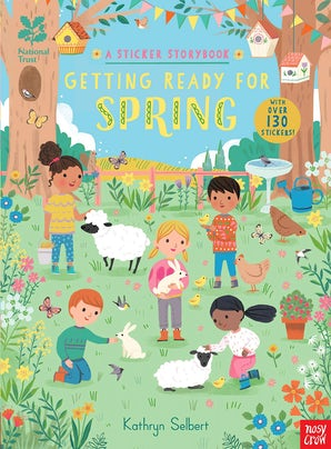 National Trust: Getting Ready for Spring, A Sticker Storybook
