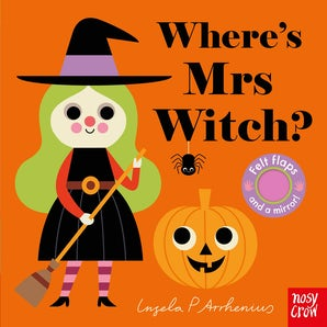 Felt-Flap: Where's Mrs Witch?