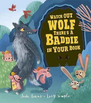 Watch Out Wolf, There's A Baddie In Your Book