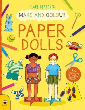 Make & Colour: Paper Dolls