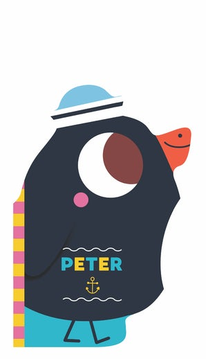 My Bath Friends: Peter the Penguin